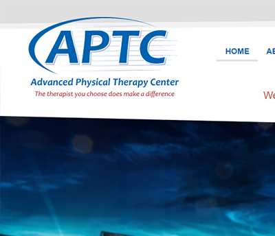 Advanced Physical Therapy Center - Website Design