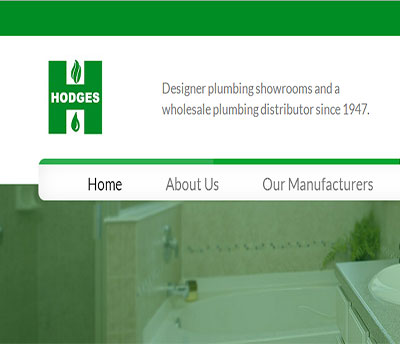 Hodges Supply - Web Design