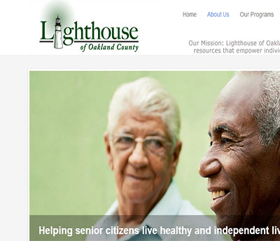 Lighthouse of Oakland County - Web Design