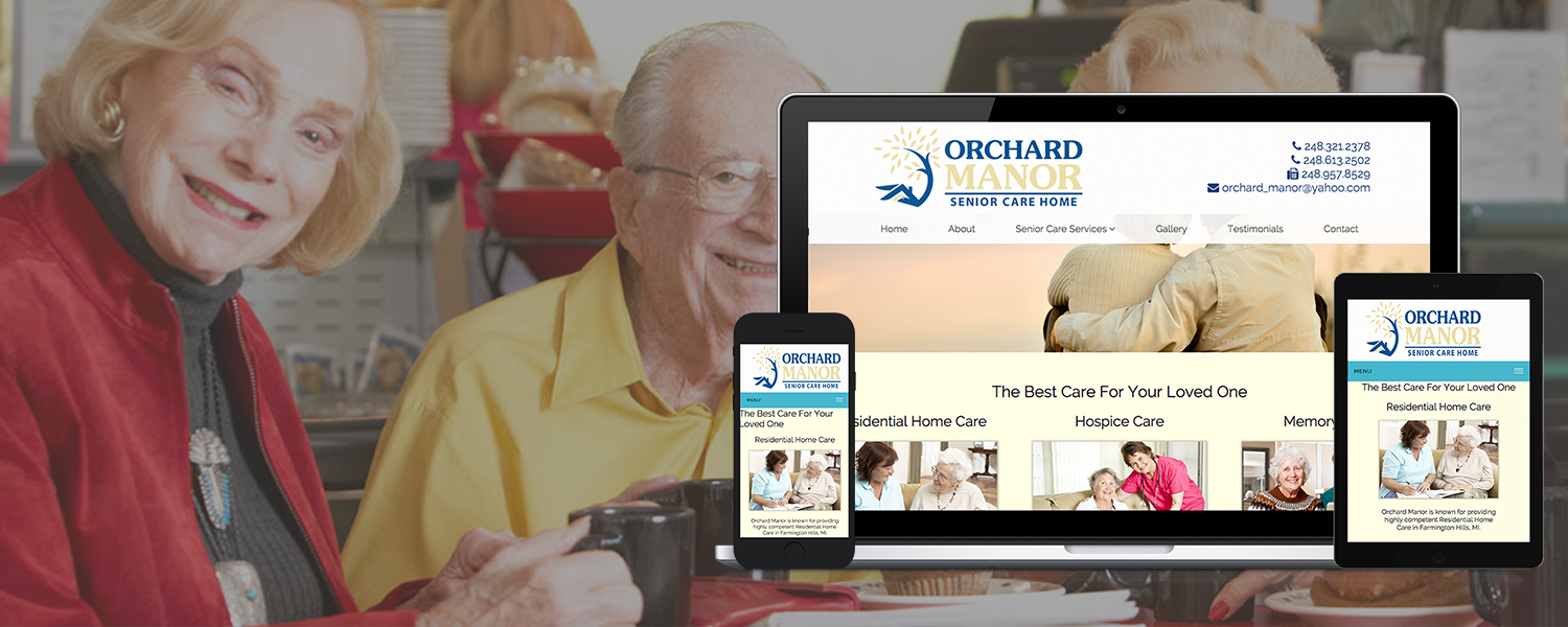 Orchard Manor responsive banner