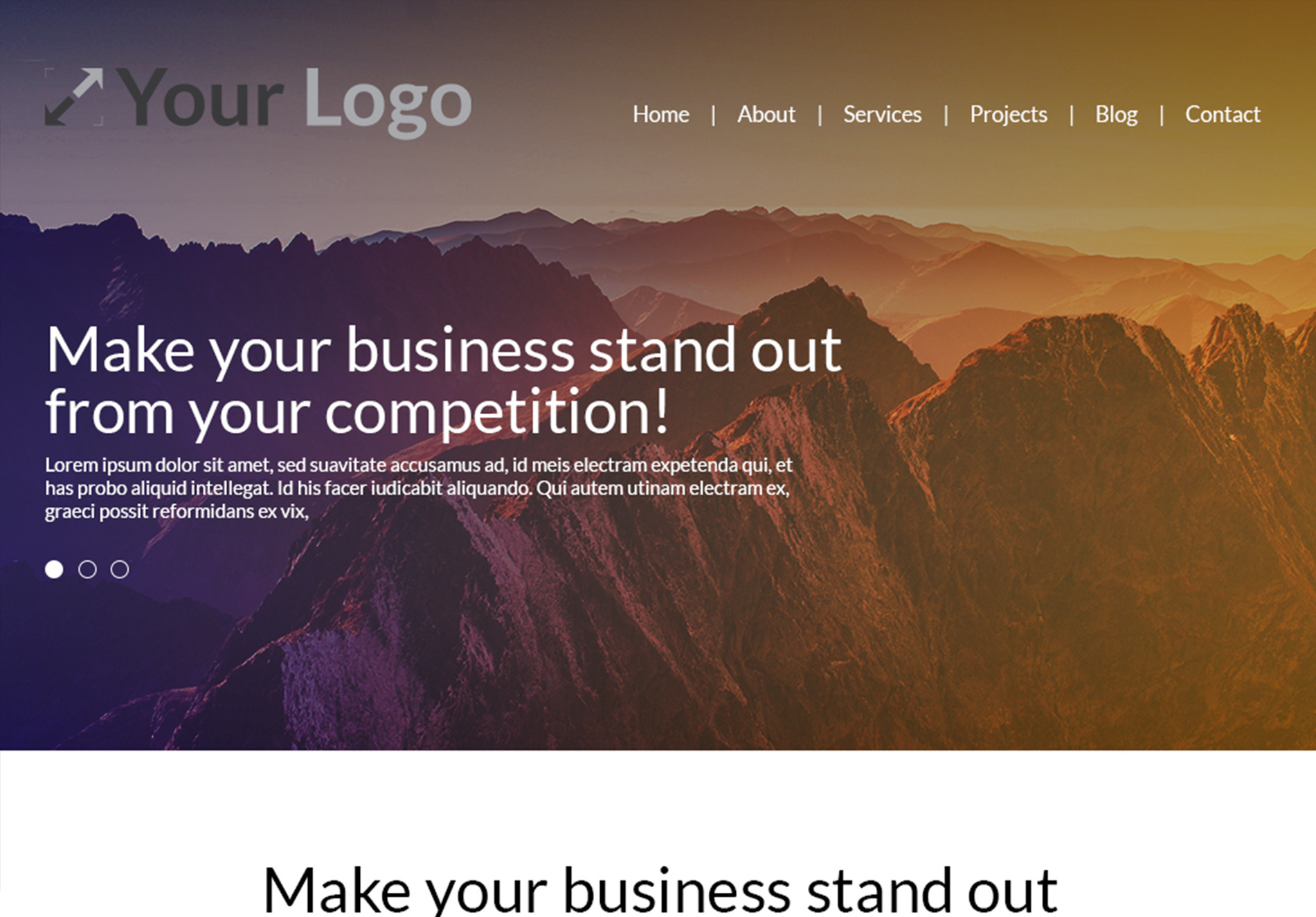 Service Website Template